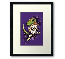 Clever Girl Framed Print