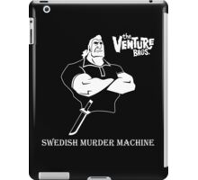 Brock Samson Swedish Murder Machine The Venture Bros. Anime Tv Series iPad Case/Skin