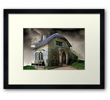 A Gothic Cottage Framed Print