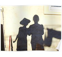 Shadow Painting Poster