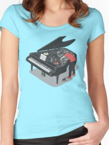 Pre-Concert Tune-Up Women's Fitted Scoop T-Shirt
