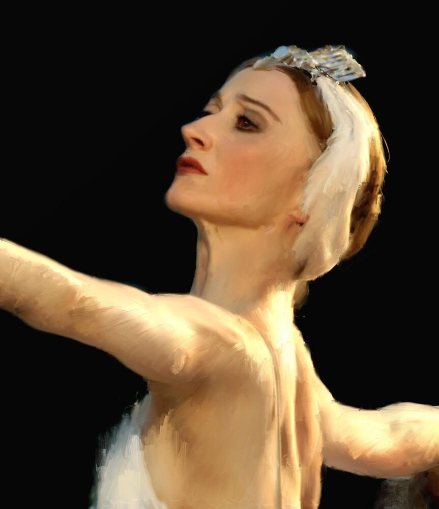 Dancer in the dark by Alan Mattison