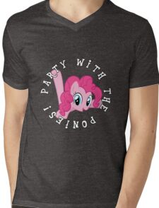 Pinkie Pie - Party Mens V-Neck T-Shirt