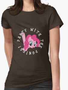 Pinkie Pie - Party Womens Fitted T-Shirt