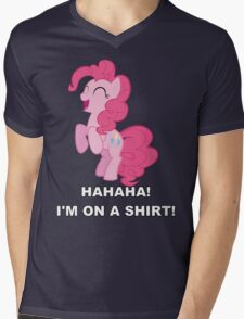 Pinkie Pie - Laughter Mens V-Neck T-Shirt