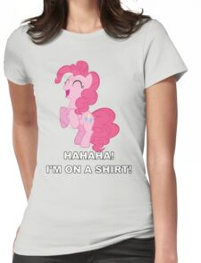 Pinkie Pie - Laughter Womens Fitted T-Shirt