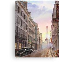 Evening in Paris Canvas Print