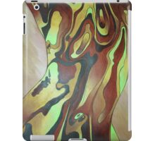 Contemporary Nude Abstract In Brown iPad Case/Skin