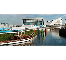 River Lea Panorama Photographic Print