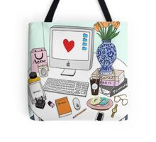 New Yorker's Desk Tote Bag