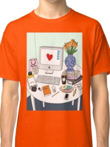 New Yorker's Desk Classic T-Shirt