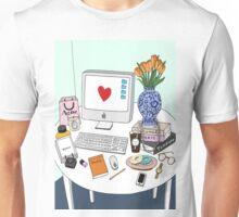 New Yorker's Desk Unisex T-Shirt