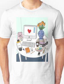 New Yorker's Desk T-Shirt