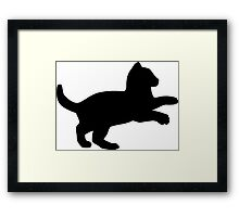 Playful Kitten Framed Print