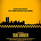 Movie Poster - &quot;TAXI DRIVER&quot; (Clean) by Mark Hyland