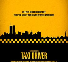 "Movie Poster - ""TAXI DRIVER"" (Clean) by Mark Hyland"