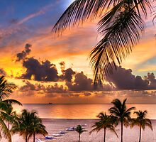 Sunrise over Fort Lauderdale by Ray Chiarello