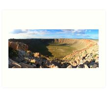 Meteor Crater (Barringer Crater) Art Print