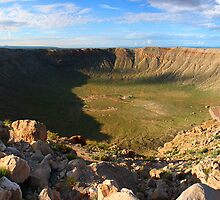 Meteor Crater (Barringer Crater) by Daniel Owens