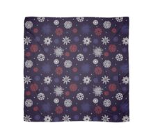 Beautiful snowflakes seamless ornament Scarf
