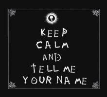 Death Note Keep Calm by CoinLoser
