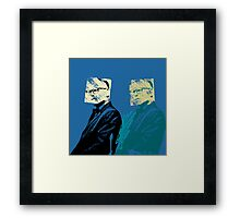 Look-a-Likes: Philip Capote Framed Print