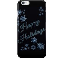 Snowflake Holiday... iPhone Case/Skin