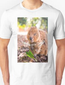as Happy as a Quokka #3 Unisex T-Shirt
