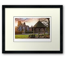 Rous Lench, Worcestershire Framed Print