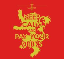 Keep Calm and Pay Your Debts T-Shirt