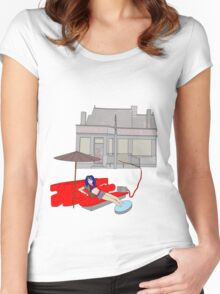 puzzle box Women's Fitted Scoop T-Shirt