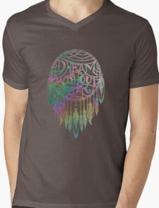 Dream Without Fear Colorful  Dreamcatcher Mens V-Neck T-Shirt
