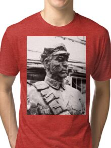 Chinese People's Liberation Army Soldier Tri-blend T-Shirt