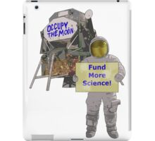 occupy the moon iPad Case/Skin