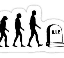 Zombie Evolution Sticker