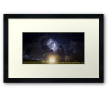 Waiting on Dragons Framed Print