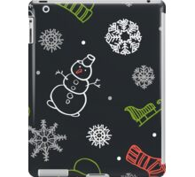 Beautiful winter seamless ornament for christmas winter design iPad Case/Skin