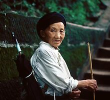 Chinese Minority Woman by Eva Kato