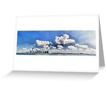 New York - Downtown Panorama Greeting Card