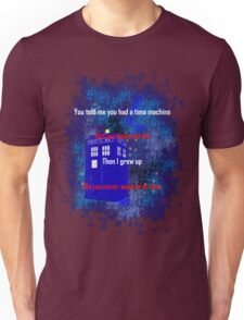 Doctor Who quote - Never want to grow up Unisex T-Shirt