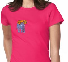 Paislephant - The Paisley Patterned Elephant Womens Fitted T-Shirt