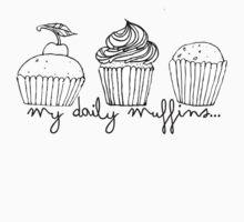 my daily muffins Kids Tee