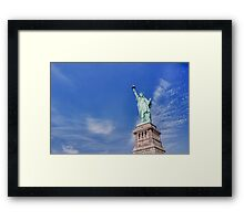 New York - Statue of Liberty Framed Print