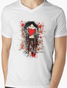limp Mens V-Neck T-Shirt