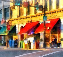 Corner or Center and Merchant Rutland VT by Susan Savad