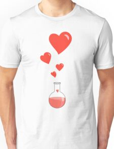 Flask of Hearts Unisex T-Shirt