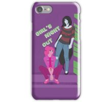 Marceline & PB - Girl's Night Out iPhone Case/Skin