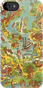 Vintage Disneyland Map by tylersmithh