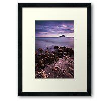 Cap Blanc 2 Framed Print