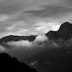 Sunrise at Mt Streszlecki Flinders Island by Andrew  Makowiecki